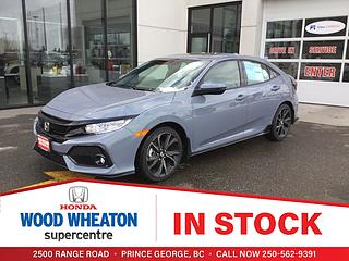 2019 Honda Civic Hatchback in Prince George, BC | Wood Wheaton Honda
