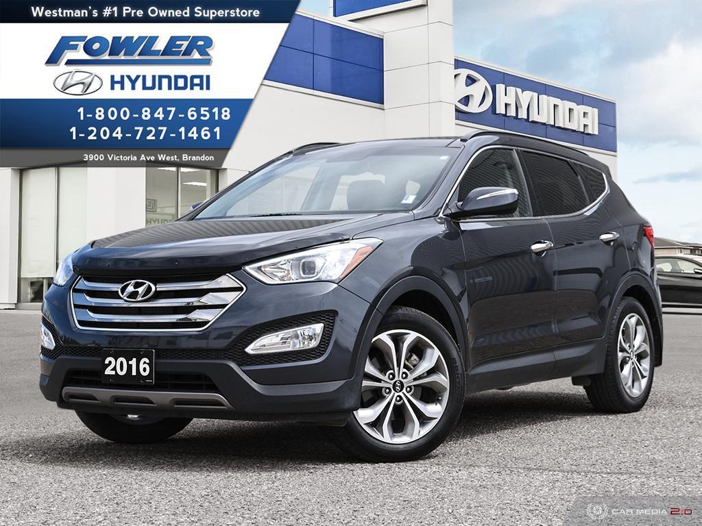 2016 Hyundai Santa Fe >> 2016 Hyundai Santa Fe Se Awd