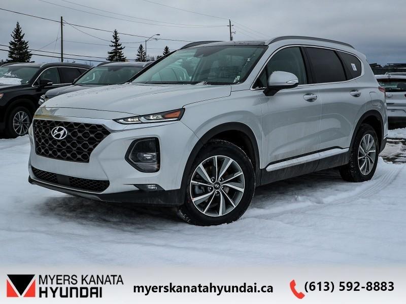 2019 Hyundai Santa Fe 2 0t Preferred W Sunroof Awd