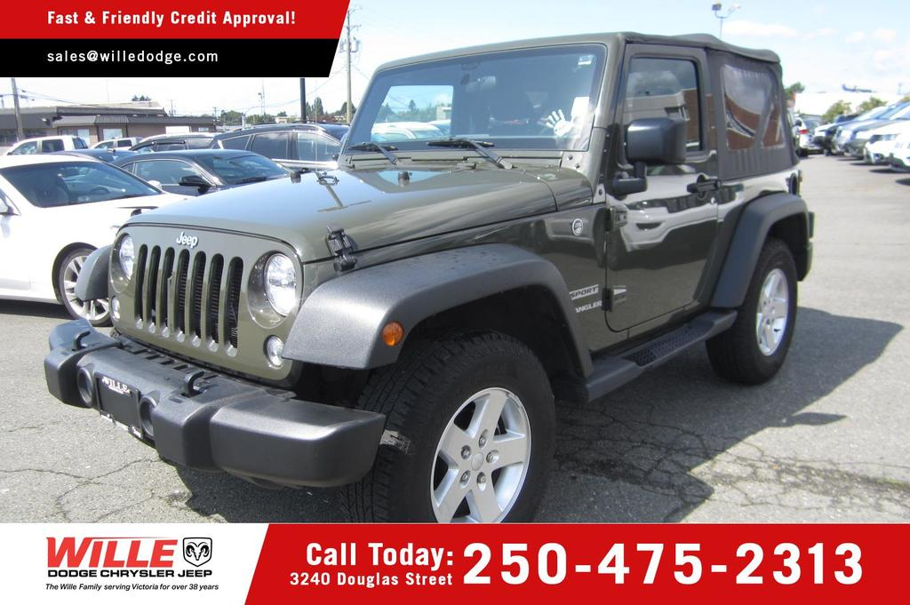 Jeeps For Sale Bc >> Jeep Wrangler For Sale In Victoria Bc Wille Dodge