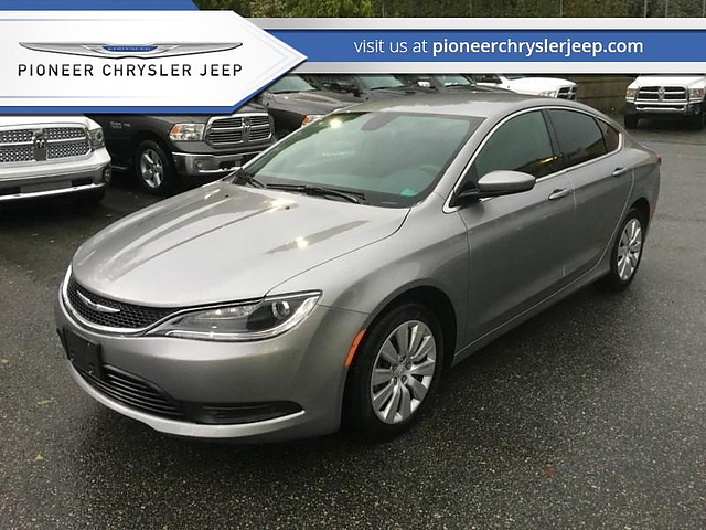 2017 Chrysler 200 in Mission, BC | Pioneer Chrysler Jeep